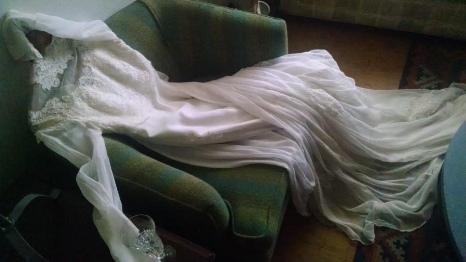 William Cahill Vintage Wedding Gown
