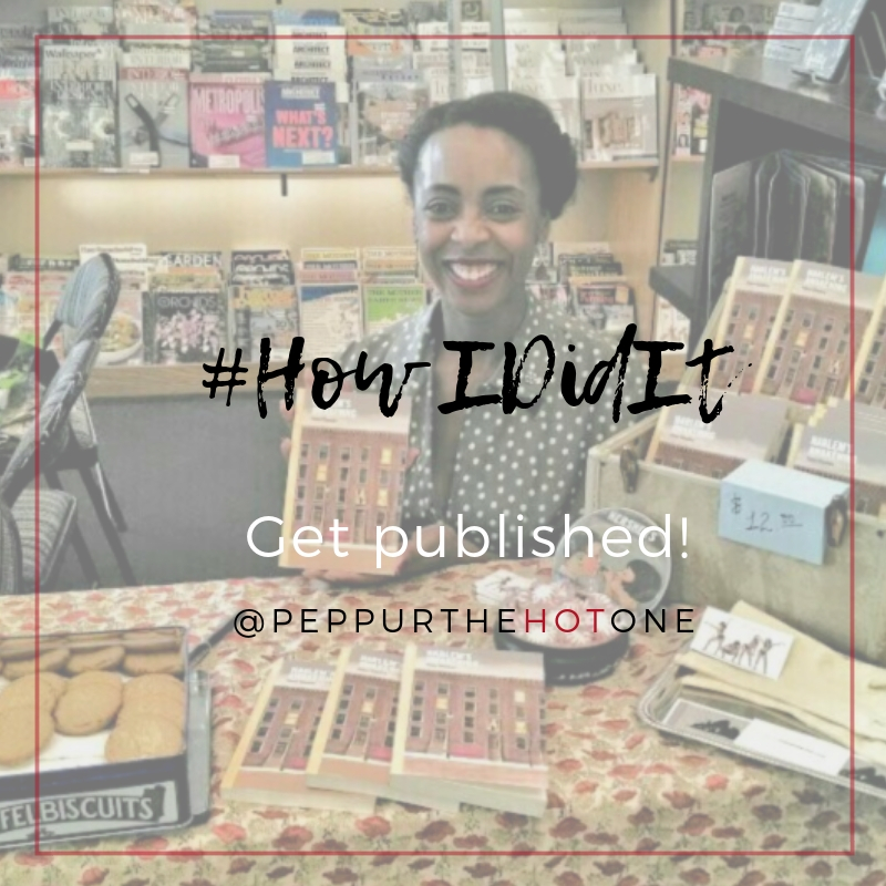 #How IDidIt Get published