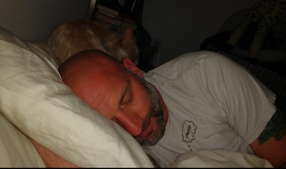 Matt and Vivian Sleeping